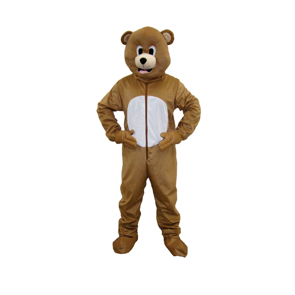Dress Up America Bear Mascot, Brown, Adult One Size by Dress Up America (Image #1)