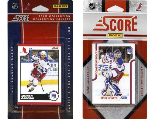 NHL New York Rangers Licensed Score 2 Team Sets