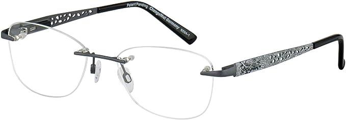 Change Me Randlose Brille 2410 2 Mit Wechselbugel 8594 1 Grau Amazon De Bekleidung