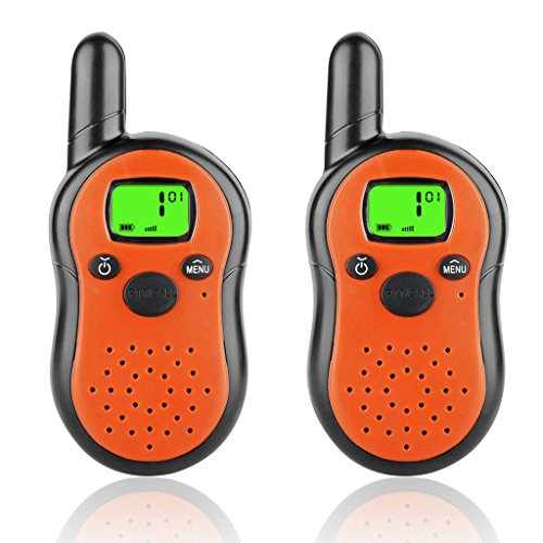 2 Way Radio Toy Set For Kids made our CampingForFoodies hand-selected list of 100+ Camping Stocking Stuffers For RV And Tent Campers!