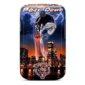 Unique Design Galaxy S3 Durable Tpu Case Cover Chicago Bears