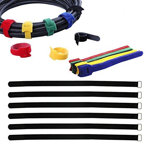Yiwerder 36Pcs Cable Management
