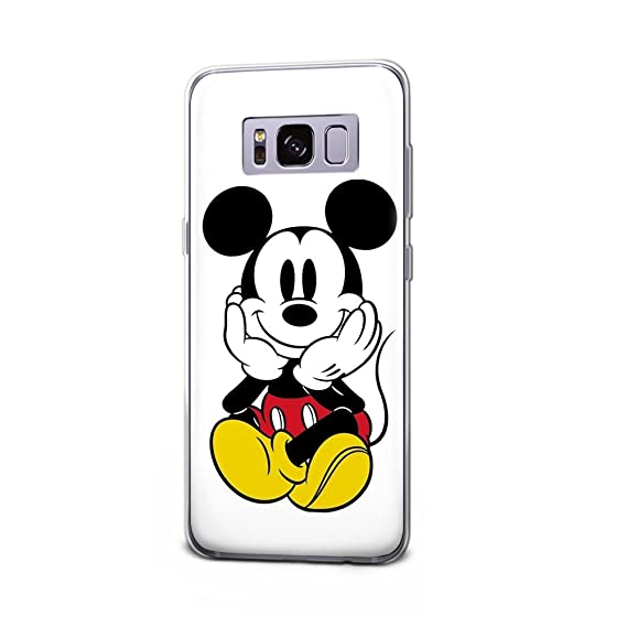 huge selection of 0c8ba 71e01 GSPSTORE Samsung Galaxy S8 Plus Case,Mickey Minnie Mouse Disney Cartoon  Protector Cover for Samsung Galaxy S8 Plus #03