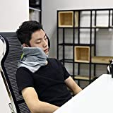 Amazon Price History for:AOOU Travel Pillow Portable Soft Neck Support Perfect Pillow for Any Sitting Position Super Comfortable Pillow for Home Office Car Plane Train Machine Ergonomic Design Washable Pillow
