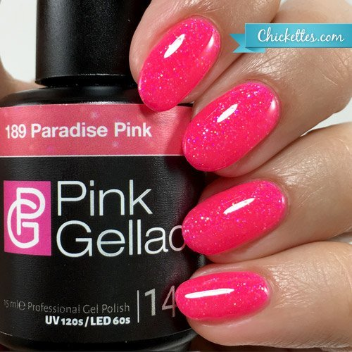 Pink Gellac #189 Paradise Pink UV / LED Gel Polish