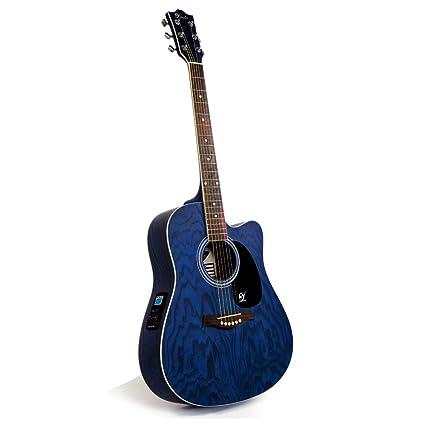 Lindo Willow Electro/Electric Cutaway Guitarra Acústica con ...