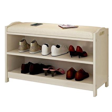 Amazon.com: Yunfeng Zapatero Banco Asiento Cambiador Zapatos ...
