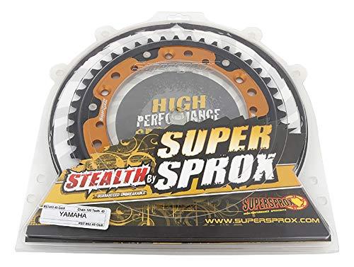 SuperSprox RST-853-45-GLD Gold Stealth Sprocket