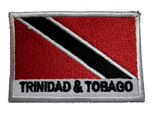 Republic of Trinidad and Tobago National Flag Sew on Patch Free Shipping