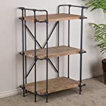 Christopher Knight Home Yorktown 3-Shelf Bookcase, Antique 7