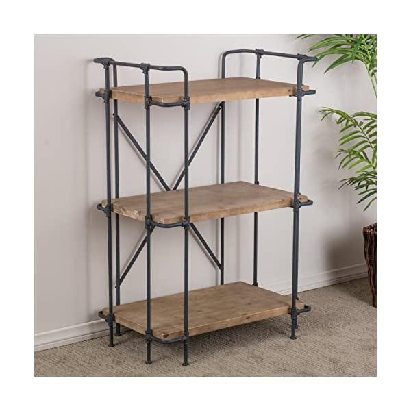 Christopher Knight Home Yorktown 3-Shelf Bookcase, Antique 4