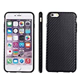 GHC Cases & Covers, Carbon Fiber Texture TPU Case for iPhone 6 Plus & 6S Plus ( Color : Black )