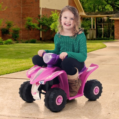 Toy 4 Wheelers For 8 Year Old Boys : Ride on toy quad battery powered atv four