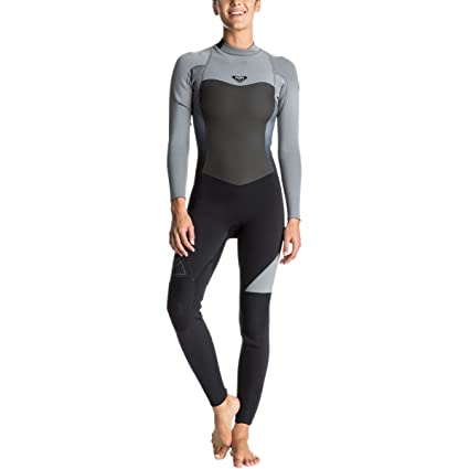 Amazon.com  Roxy Womens 4 3Mm Syncro Series Back Zip GBS Wetsuit for ... 8460001f3922