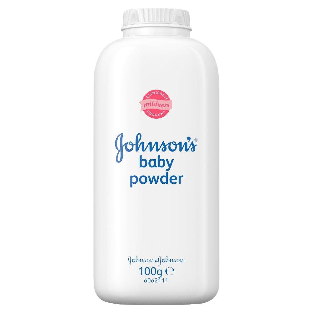 JOHNSONS BABY POWDER 100 G Johnson' s 3574660025415