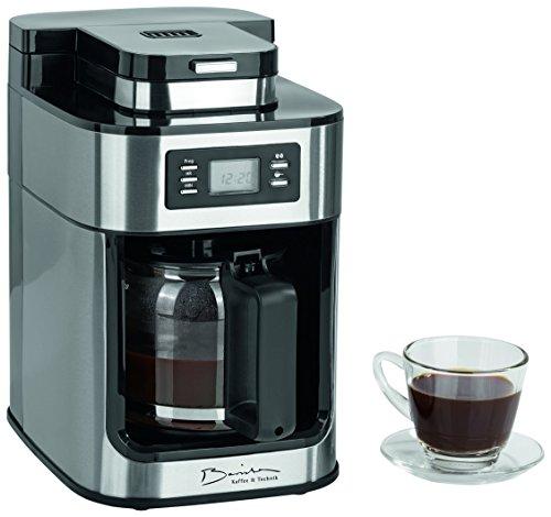 Barista-09925-Cafetera-con-molinillo-integrado-1050-W-Acero-Inoxidable-Cafetera-Elctrica-Cafetera-de-mbolo-Caf