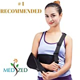 MEDIZED Arm Sling with Thumb Support Dislocated Shoulder for Broken Arm Immobilizer Wrist Elbow...