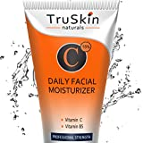 Face Moisturizer Paraben Free - BEST Vitamin C Moisturizer Cream for Face, Neck & Décolleté for Anti-Aging, Wrinkles, Age Spots, Skin Tone, Firming, and Dark Circles. 2oz