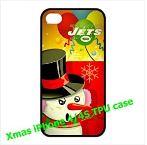 New York Jets logo iPhone 4/4s Hard Shells for fans