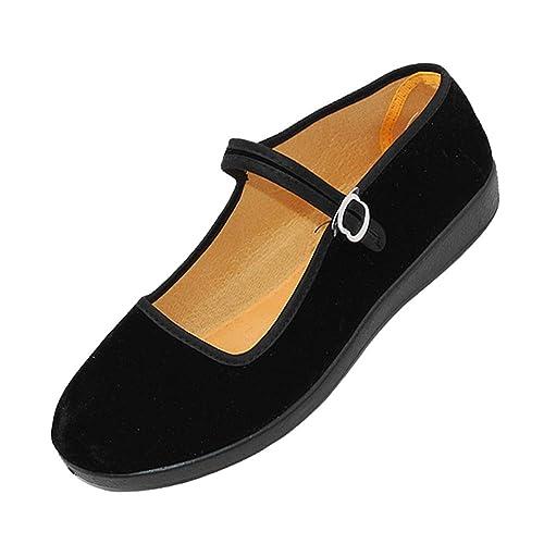 uirend Zapatos Merceditas Mujer - Zapato Bailarinas con ...
