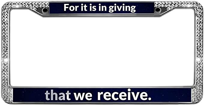 com gnd license plate frame tag bible christian quotes