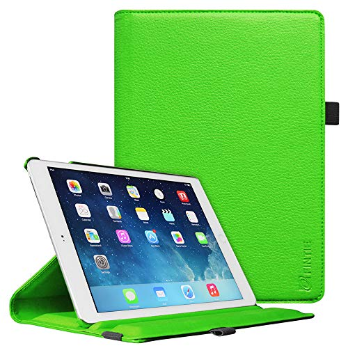 Fintie iPad mini 1/2/3 Case - Multiple Angles Stand Case with Smart Cover Auto Sleep/Wake Feature for Apple iPad mini 1 / iPad mini 2 / iPad mini 3, Green