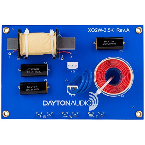 Dayton Audio XO2W-3.5K 2-Way Speaker Crossover 3,500 Hz (Dayton Crossover compare prices)