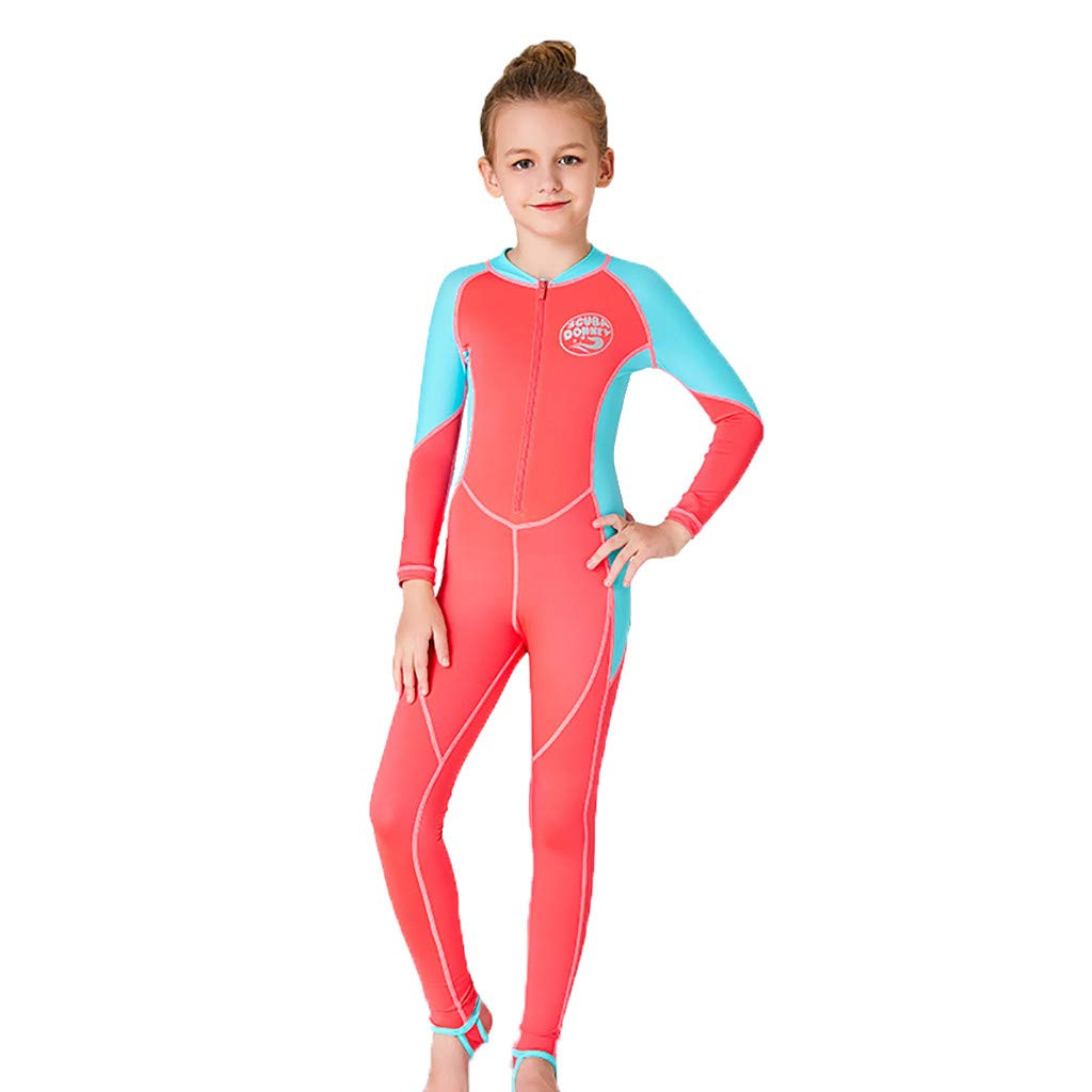 Amazon.com : HowLoo Wetsuit for Kids Jumpsuit Snorkeling ...