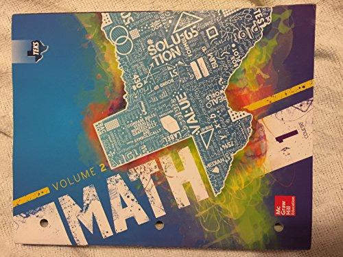 Texas TEKS Math Course 1 Volume 2