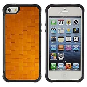 "Hypernova Defender Series TPU protection Cas Case Coque pour Apple iPhone SE / iPhone 5 / iPhone 5S [Simple patrón de 32""]"