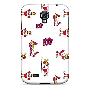Protector Hard Phone Cover For Samsung Galaxy S4 (FZS17206GZCy) Provide Private Custom Vivid St. Louis Cardinals Skin