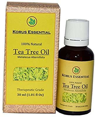 100% Natural Tea Tree Essential Oil - 100% Pure Therapeutic Grade 30 ml / 1.01 oz For Relaxation, Personal Care and Household Use