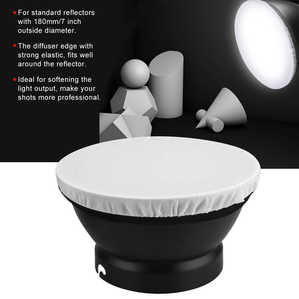 Amarillo Simlug Anillo de Estudio Plegable difusor de luz Cubierta de Tela de iluminaci/ón
