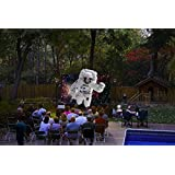 12' Backyard Theater Systems(tm) SAVI 1080p supported Projector+WiFi
