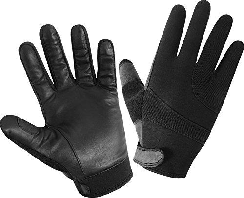 Einsatzhandschuhe aus Rindleder mit schnitthemmender Kevlar®-Einlage