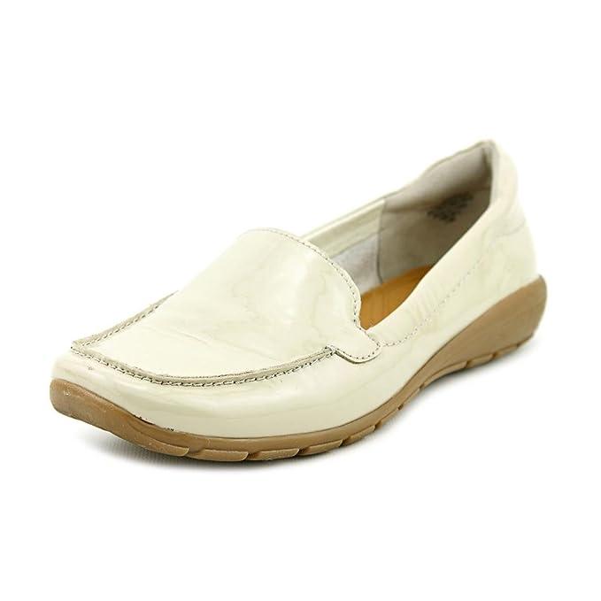 Easy Spirit Abide Mujer Crema Charol Mocasines Zapatos Nuevo: Amazon.es: Ropa y accesorios