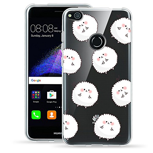 Vanki® Funda Huawei P8 Lite (2017) / honor 8 lite/ Nova Lite Silicona TPU Transparente Suave Clear Flexible Anti Choque Ultra Delgado Case Cover para Huawei P8 Lite 2017 2