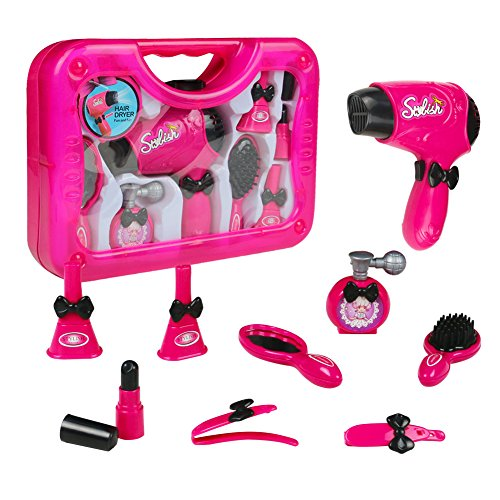Jerryvon Make Up Set Pretend Play Comestic Game Set Girls Toys Kit with Beauty Accessories for Kids Girls Children 3 Years Old and - Mall Great Hours Thanksgiving