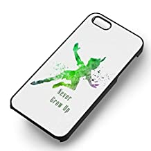 Peter Pan Quote for Iphone 6 and Iphone 6s Case (Black Rubber Case)