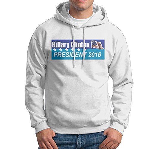 Men's HILLARY CLINTON PRESIDENT 2016 Pullover Hoodies