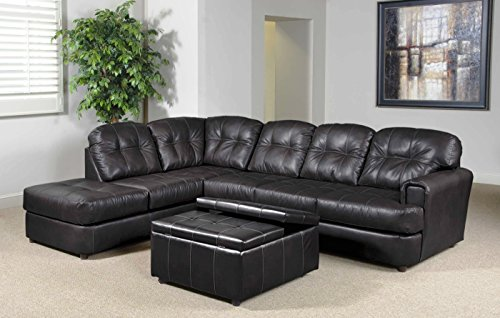 Chelsea Home Furniture Jade 2-Piece Sectional, Eastern Charcoal