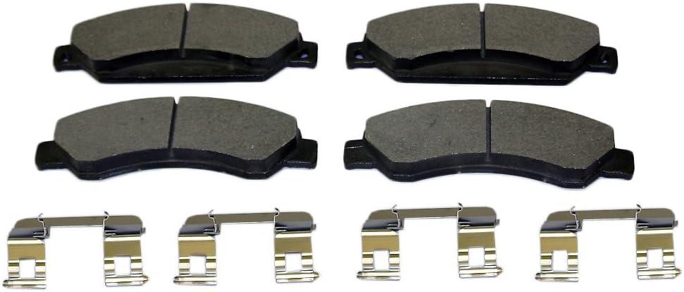 Monroe DX1092 Total Sale Solution Semi-Metallic Pad Brake Nashville-Davidson Mall