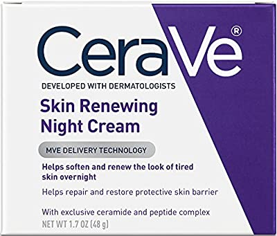 Best Cheap Deal for CeraVe Skin Renewing Night Cream 1.7 oz Facial Moisturizer with Niacinamide and Peptide Complex to Soften Skin from CeraVe - Free 2 Day Shipping Available