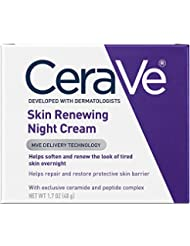 CeraVe Skin Renewing Night Cream 1.7 oz Facial Moisturizer wi...