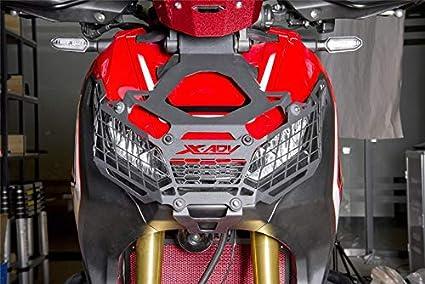 BEESCLOVER Modification Headlight Grille Guard Cover Protector for Hon-da X-ADV750 Xadv750 X-adv750 XADV X-ADV 750 17-18 black