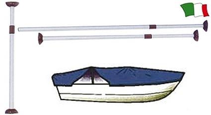 PARACHINI shop Poste Telescópico displuvio Grande para Sostenere el Toalla para Barco copribarca