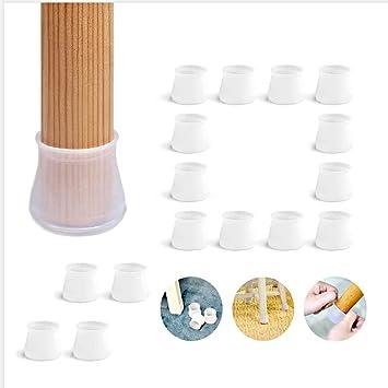 16 Furniture caps Silicone Chair Leg Cover Furniture Cup 16pcs