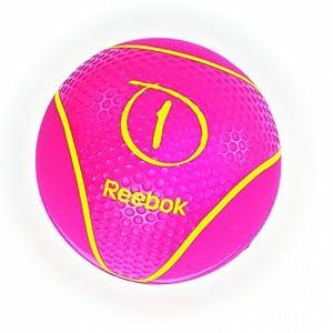 Reebok Medizinball, magenta, 1 kg, RAB-40121MG