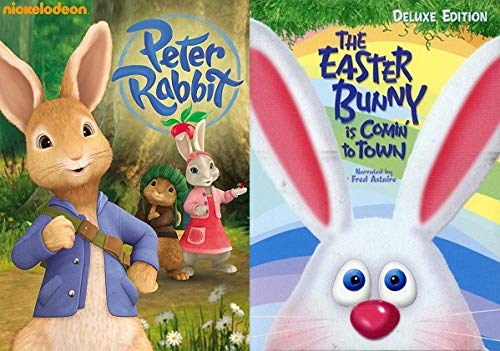 Little bunny tales! Holiday Spring 2-Movie Bundle - Peter Rabbit Adventures + The Easter Bunny is Comin' To Town Deluxe Edition Stop Motion Gallery Express Bundle 2 Pack