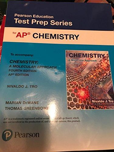 Pearson Education Test Prep Series for AP Chemistry